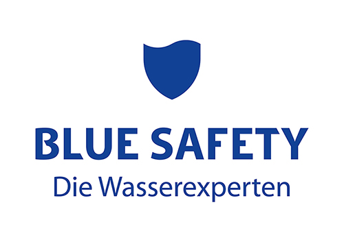 Logo BLUE SAFETY – rechtssichere Wasserhygiene für Ihre Zahnarztpraxis